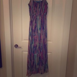 Jack Multicolor Maxi Dress - Size 4